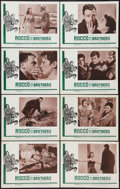 """Movie Posters:Drama, Rocco and His Brothers (Astor, 1961). Lobby Card Set of 8 (11"""" X 14""""). Drama.. ... (Total: 8 Items)"""