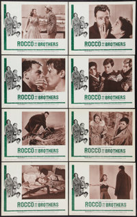 """Rocco and His Brothers (Astor, 1961). Lobby Card Set of 8 (11"""" X 14""""). Drama. ... (Total: 8 Items)"""