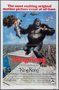 "Movie Posters:Horror, King Kong (Paramount, 1976). One Sheet (27"" X 41""). Horror.. ..."
