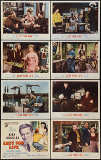 """Lust for Life (MGM, 1956). Lobby Card Set of 8 (11"""" X 14""""). Drama. ... (Total: 8 Items)"""