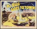 "Movie Posters:Animated, Mr. Bug Goes to Town (Paramount, 1941). Half Sheet (22"" X 28"")Style A. Animated.. ..."