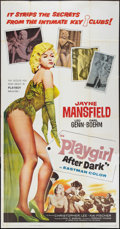 "Movie Posters:Sexploitation, Playgirl After Dark (Topaz, 1961). Three Sheet (41"" X 81"").Sexploitation.. ..."