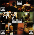 "Movie Posters:Crime, The Godfather (Paramount, 1972). Italian Lobby Card Set of 12(9.25"" X 13.25""). Crime.. ... (Total: 12 Items)"
