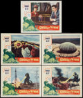 """Movie Posters:Science Fiction, Godzilla vs. the Thing (American International, 1964). Lobby Cards(5) (11"""" X 14""""). Science Fiction.. ... (Total: 5 Items)"""
