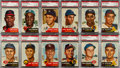 Baseball Cards:Sets, 1953 Topps Baseball Collection (216) With Over 40 High Numbers. ...