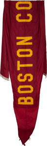 Football Collectibles:Others, 1960's Boston College Eagles Flag Flown Over Notre Dame Stadium....