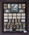 Autographs:Others, 1960 Pittsburgh Pirates Team Signed Display....