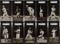 Baseball Cards:Sets, 1907-09 PC765-1 Dietsche Detroit Tigers Postcards Near Set (15/16)- #3 on the SGC Set Registry. ...