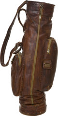 Golf Collectibles:Miscellaneous, 1929 Walter Hagen British Open & Ryder Cup Tournament Used GolfBag....