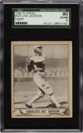 Baseball Cards:Singles (1940-1949), 1940 Play Ball Joe Jackson #225 SGC 80 EX/NM 6....
