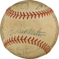 Autographs:Baseballs, 1955 Brooklyn Dodgers Team Signed Baseball....