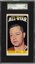 Hockey Cards:Singles (1960-1969), 1964 Topps Glenn Hall AS #110 SGC 92 NM/MT+ 8.5 - Pop One with None Higher! ...