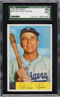 Baseball Cards:Singles (1950-1959), 1954 Bowman Pee Wee Reese #58 SGC 96 Mint 9 - Pop Two with NoneHigher....