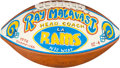Football Collectibles:Uniforms, 1978 Los Angeles Rams Team Signed Football....