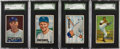 Baseball Cards:Sets, 1951 Bowman Baseball Collection (237) with Mickey Mantle RookieCard! ...
