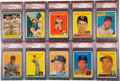 Baseball Cards:Sets, 1958 Topps Baseball Near Master Set (494) With 31 Variations,Emblem and Contest Card Plus 2 Bazooka Redemptions. ...