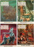 Pulps:Science Fiction, Analog Box Lot (Street & Smith, 1965-80) Condition: AverageVF....