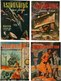 Pulps:Science Fiction, Astounding Stories Digests Box Lot (Street & Smith, 1944-53)Condition: Average VG/FN....