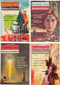 Fantasy and Science Fiction Pulp Box Lot (Fantasy House, Inc., 1960-76) Condition: Average VG/FN.... (Total: 3 Box Lots)