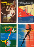 Pulps:Science Fiction, Fantasy and Science Fiction Box Lot (Fantasy House Inc., 1949-59)Condition: Average VG/FN....