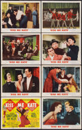 "Movie Posters:Musical, Kiss Me Kate (MGM, 1953). Lobby Card Set of 8 (11"" X 14""). Musical.. ... (Total: 8 Items)"