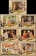 "Movie Posters:Adventure, East of Borneo (Universal, 1931). Title Lobby Card and Lobby Cards(6) (11"" X 14""). Adventure.. ... (Total: 7 Items)"