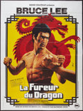 "Movie Posters:Action, Enter the Dragon (Rene Chateau, 1973). French Grande (47"" X 62"").Action.. ..."