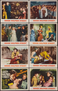 "Green Dolphin Street and Other Lot (MGM, R-1955). Lobby Card Sets of 8 (2) (11"" X 14""). Adventure. ... (Total:..."