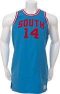 Basketball Collectibles:Uniforms, 1968 Ken Spain USA Olympic Trials Worn Uniform....