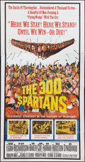 "Movie Posters:Action, The 300 Spartans (20th Century Fox, 1962). Three Sheet (41"" X 81"").Action.. ..."