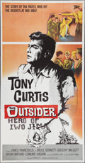 "Movie Posters:War, The Outsider (Universal, 1962). Three Sheet (41"" X 81""). War.. ..."
