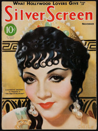 """Silver Screen (Screenland, November, 1932). Magazine (68 Pages, 8.5"""" X 11.5""""). Miscellaneous"""