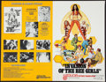 "Movie Posters:Sexploitation, Invasion of the Bee Girls & Other Lot (Centaur, 1973). UncutPressbooks (2) (6 Pages & 12 Pages, 11"" X 17"").Sexploitation.... (Total: 2 Items)"