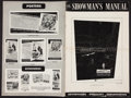 """Movie Posters:Science Fiction, The Incredible Shrinking Man (Universal International, 1957). UncutPressbook (24 Pages, 12"""" X 18""""). Science Fiction.. ..."""