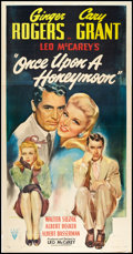 """Movie Posters:Comedy, Once Upon a Honeymoon (RKO, 1942). Three Sheet (41"""" X 81"""").Comedy.. ..."""