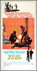 "Movie Posters:Academy Award Winners, In the Heat of the Night (United Artists, 1967). Three Sheet (41"" X 81""). Academy Award Winners.. ..."