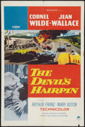 "Movie Posters:Action, The Devil's Hairpin (Paramount, 1957). One Sheet (27"" X 41"").Action.. ..."