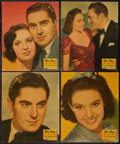 """Movie Posters:Comedy, Day-time Wife (20th Century Fox, 1939). Jumbo Lobby Card Set of 8 (14"""" X 17""""). Comedy.. ... (Total: 8 Items)"""