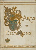 "Non-Sport Cards:Sets, 1880's N181 Kimball ""Arms of Dominions"" Album with Complete Set ofCards Inside. ..."