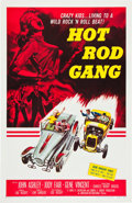 "Movie Posters:Exploitation, Hot Rod Gang (American International, 1958). One Sheet (27"" X41"").. ..."