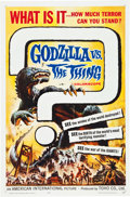 """Movie Posters:Science Fiction, Godzilla vs. the Thing (American International, 1964). One Sheet(27"""" X 41"""").. ..."""