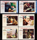 "Movie Posters:Hitchcock, Rear Window (Paramount, 1954). Lobby Cards (6) (11"" X 14"").. ...(Total: 6 Items)"