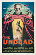 "Movie Posters:Horror, The Undead (American International, 1957). One Sheet (27"" X 41"").. ..."