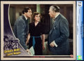 """Movie Posters:Crime, Sherlock Holmes and the Secret Weapon (Universal, 1942). CGC Lobby Card (11"""" X 14"""").. ..."""
