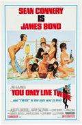"""Movie Posters:James Bond, You Only Live Twice (United Artists, 1967). One Sheet (27"""" X 41"""") Style C.. ..."""