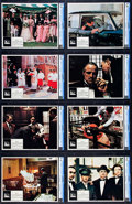 "Movie Posters:Crime, The Godfather (Paramount, 1972). CGC Lobby Card Set of 8 (11"" X14"").. ... (Total: 8 Items)"