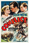 "Movie Posters:Drama, Conflict (Universal, 1936). One Sheet (27"" X 41"").. ..."