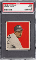 Baseball Cards:Singles (1940-1949), 1949 Bowman Frank Shea #49 PSA Mint 9 - Pop Five with NoneHigher....
