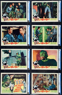 "It! The Terror from Beyond Space (United Artists, 1958). CGC Graded Lobby Card Set of 8 (11"" X 14""). ... (Tota..."