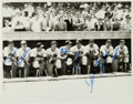 Baseball Collectibles:Photos, 1947 American League All-Stars Signed Photograph....